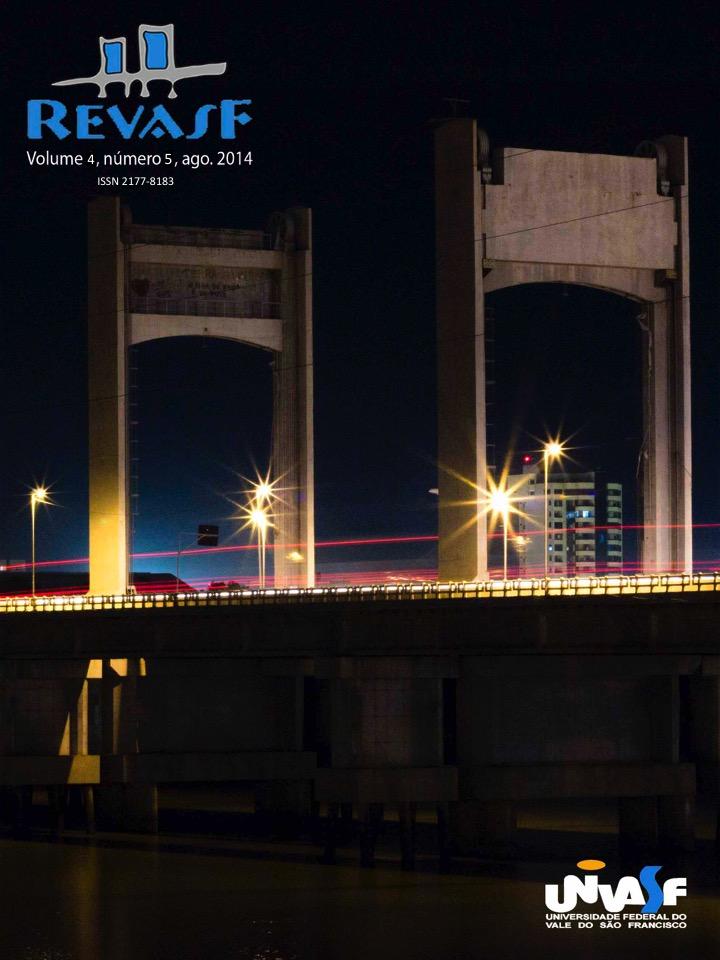 Visão noturna da Ponte Presidente Dutra - Juazeiro-BA / Petrolina-PE (Foto de Robério Brasileiro Mota Junior).